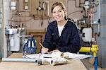 Apprentice plumber Stock Photo - Premium Royalty-Free, Artist: CulturaRM, Code: 6114-06606555