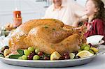 Thanksgiving turkey Stock Photo - Premium Royalty-Freenull, Code: 6114-06606637