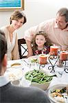 Family meal Stock Photo - Premium Royalty-Free, Artist: Blend Images, Code: 6114-06606648