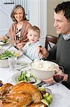 Thanksgiving dinner Stock Photo - Premium Royalty-Free, Artist: CulturaRM, Code: 6114-06606654