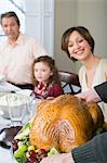 Thanksgiving dinner Stock Photo - Premium Royalty-Free, Artist: CulturaRM, Code: 6114-06606656