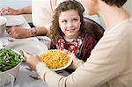 Family meal Stock Photo - Premium Royalty-Freenull, Code: 6114-06606659