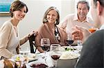 Family meal Stock Photo - Premium Royalty-Free, Artist: Blend Images, Code: 6114-06606666