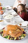 Thanksgiving dinner Stock Photo - Premium Royalty-Freenull, Code: 6114-06606677