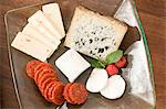 Cheese plate Stock Photo - Premium Royalty-Freenull, Code: 6114-06606682