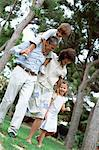 Happy family portrait Stock Photo - Premium Royalty-Free, Artist: Cultura RM, Code: 6114-06607030