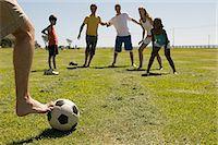Game of football Stock Photo - Premium Royalty-Freenull, Code: 6114-06607205