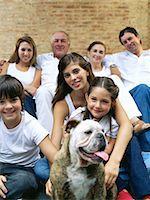 Family portrait Stock Photo - Premium Royalty-Freenull, Code: 6114-06607492