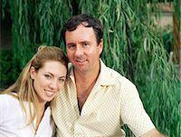 Couple in the garden Stock Photo - Premium Royalty-Freenull, Code: 6114-06607494
