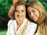 Mother and daughter Stock Photo - Premium Royalty-Freenull, Code: 6114-06607498