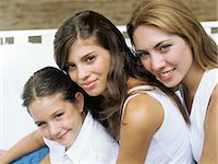 Mother and daughters Stock Photo - Premium Royalty-Freenull, Code: 6114-06607501