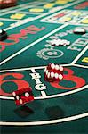 Dice on a craps table Stock Photo - Premium Royalty-Free, Artist: Robert Harding Images, Code: 6114-06607816