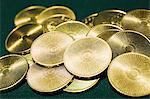 Pile of gold coins Stock Photo - Premium Royalty-Free, Artist: Ikon Images, Code: 6114-06607823