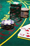 Cards and gambling chips Stock Photo - Premium Royalty-Free, Artist: Aflo Relax, Code: 6114-06607829