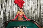 Showgirl at a craps table Stock Photo - Premium Royalty-Free, Artist: Robert Harding Images, Code: 6114-06607852