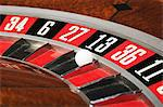 Ball on number thirteen on roulette wheel Stock Photo - Premium Royalty-Free, Artist: Robert Harding Images, Code: 6114-06607873