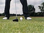 Teeing off Stock Photo - Premium Royalty-Free, Artist: Aflo Sport, Code: 6114-06607897
