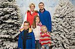 Family in winter scene Stock Photo - Premium Royalty-Free, Artist: Cultura RM, Code: 6114-06608286