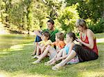 Family relaxing Stock Photo - Premium Royalty-Free, Artist: Michael Mahovlich, Code: 6114-06608351