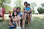 Happy family Stock Photo - Premium Royalty-Free, Artist: CulturaRM, Code: 6114-06608472