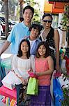 Family shopping trip Stock Photo - Premium Royalty-Free, Artist: CulturaRM, Code: 6114-06608557