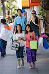 Girls and family shopping Stock Photo - Premium Royalty-Free, Artist: CulturaRM, Code: 6114-06608566