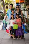 Family shopping Stock Photo - Premium Royalty-Free, Artist: Blend Images, Code: 6114-06608602