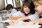 Children in school Stock Photo - Premium Royalty-Free, Artist: Westend61, Code: 6114-06609208