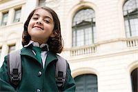Portrait of a schoolgirl Stock Photo - Premium Royalty-Freenull, Code: 6114-06609215