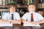 Boys fooling around Stock Photo - Premium Royalty-Free, Artist: Minden Pictures, Code: 6114-06609226