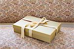Gift on a seat Stock Photo - Premium Royalty-Free, Artist: ableimages, Code: 6114-06609453