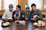 Friends having lunch Stock Photo - Premium Royalty-Free, Artist: Janet Foster, Code: 6114-06609664
