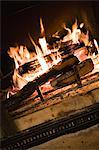 Fireplace Stock Photo - Premium Royalty-Free, Artist: Blend Images, Code: 6114-06609675