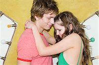 Young couple hugging Stock Photo - Premium Royalty-Freenull, Code: 6114-06609849