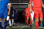 Footballers walking out of tunnel Stock Photo - Premium Royalty-Free, Artist: Dana Hursey, Code: 6114-06609930