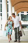 Happy couple shopping Stock Photo - Premium Royalty-Free, Artist: Nico Tondini, Code: 6114-06610210