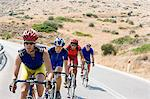 Cyclists on rural road Stock Photo - Premium Royalty-Free, Artist: Cusp and Flirt, Code: 6114-06610242