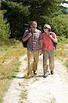 Couple walking in the country Stock Photo - Premium Royalty-Free, Artist: AWL Images, Code: 6114-06610309