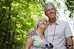Couple in forest Stock Photo - Premium Royalty-Free, Artist: Kablonk! RM, Code: 6114-06610326