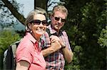 Senior couple rambling Stock Photo - Premium Royalty-Free, Artist: Robert Harding Images, Code: 6114-06610329