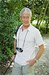 Senior male hiker Stock Photo - Premium Royalty-Free, Artist: AWL Images, Code: 6114-06610330