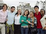 Tourists in front of trafalgar square Stock Photo - Premium Royalty-Free, Artist: ableimages, Code: 6114-06610543