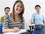 Portrait of students Stock Photo - Premium Royalty-Free, Artist: Cultura RM, Code: 6114-06610571