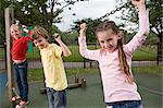 Children on a chain Stock Photo - Premium Royalty-Free, Artist: Frank Krahmer, Code: 6114-06610627