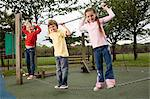 Children on a chain Stock Photo - Premium Royalty-Free, Artist: CulturaRM, Code: 6114-06610633