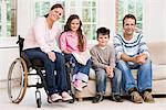 Portrait of a family Stock Photo - Premium Royalty-Freenull, Code: 6114-06610742