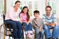 Portrait of a family Stock Photo - Premium Royalty-Freenull, Code: 6114-06610750