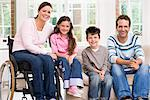 Portrait of a family Stock Photo - Premium Royalty-Free, Artist: CulturaRM, Code: 6114-06610750