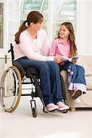 Disability at Home Stock Photo - Premium Royalty-Freenull, Code: 6114-06610768