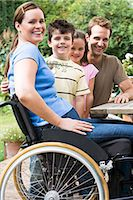 Portrait of a family Stock Photo - Premium Royalty-Freenull, Code: 6114-06610771